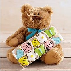 Summer Bear and Cutie Cookies Gift Set