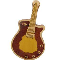 Guitar Secret Wooden Puzzle Box