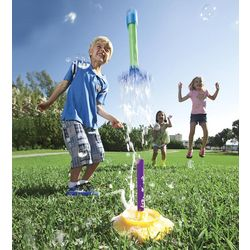 Bubble-Up Rocket Toy