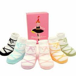 Trumpette Ballerina Baby Socks