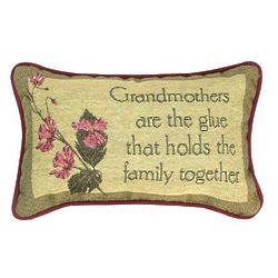 Grandmothers are the Glue Pillow