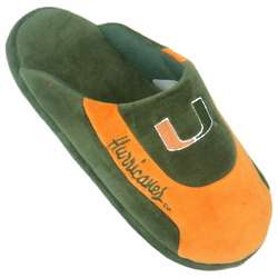 Miami Hurricanes Low Pro Stripe Slippers