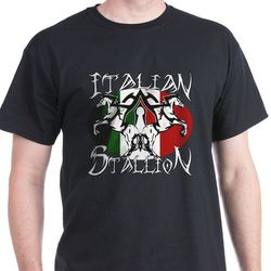 Italian Stallion Tribal T-Shirt