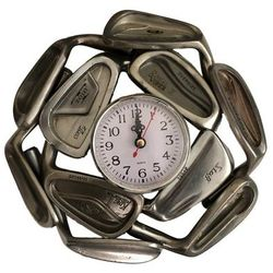 Recycled Golf Club Clock