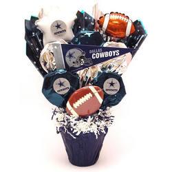 Dallas Cowboys Cookie Pot Bouquet - FindGift.com