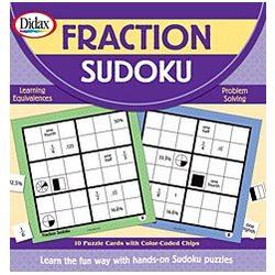 Fractions Sudoku