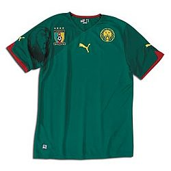 Cameroon World Cup 2010 Home Jersey