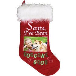 I've Been Doggone Good Dog Christmas Stocking