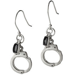 Set Yourself Free Handcuff Earrings