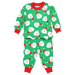 Infant Santa Pajamas