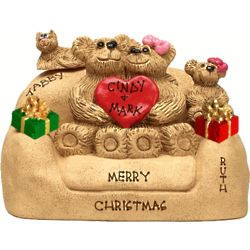 Christmas Chair for Couples with up to 5 Little Bears