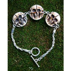 Aged Immortal Smile Bone Bracelet