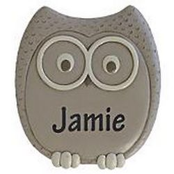 Personalized Owl Stepping Stone