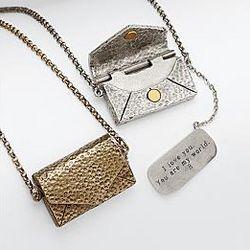 Vintage Love Letter Gold Necklace