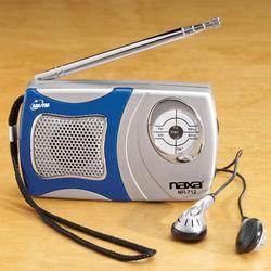 AM/FM Pocket Radio with Speaker