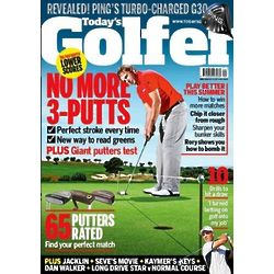 13 Issues of Today's Golfer Magazine