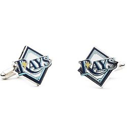 Tampa Bay Rays Enamel Cuff Links