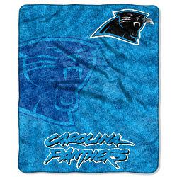 Panthers Sherpa Throw Blanket