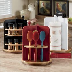 3-In-1 Revolving Kitchen Organizer