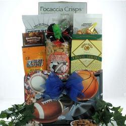 Armchair Athlete Gourmet Sports & Snack Gift Basket