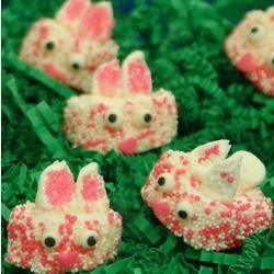 Marshmallow Easter Bunny Bites Gift Box