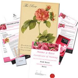 Name A Rose Gift Set