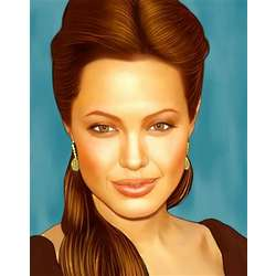 Angelina Jolie Pop Art Limited Edition Print