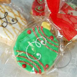 Holiday Ornament Rice Krispy Treat