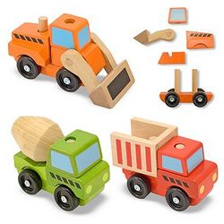 Stacking Construction Vehicles Set
