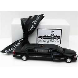 Ring Bearer's Gift Boxed Limousine Toy