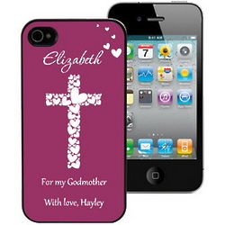 Faith and Love Personalized iPhone Case