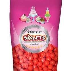 Red Celebration Sixlets