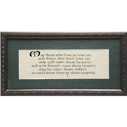 May Those Who Love Us Framed Print