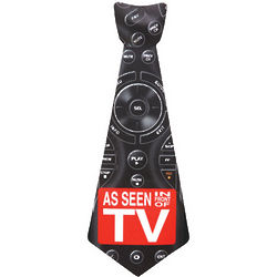 Big Guy Sticky Tie with TV Remote