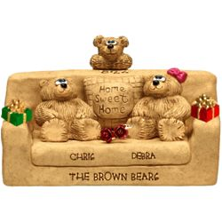 Christmas Settee for Bear Couples with up to 7 Kids