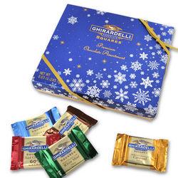 Ghirardelli Squares Blue Snowflake Gift Box