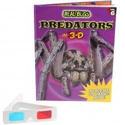 Predators in 3-D Book