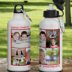 Photo Personalized Water Bottle