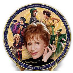 Carol Burnett Timeless Comedy Porcelain Collector Plate