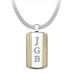 I Love You Always My Son Personalized Necklace