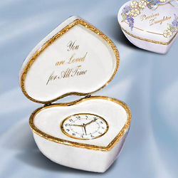 Precious Daughter Cherished Times Musical Clock