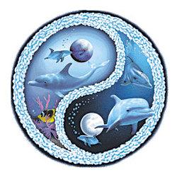Dolphin Yin Yang T-Shirt