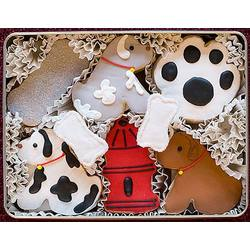 Man's Best Friend Hand Decorated Cookies