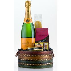 Give Me Veuve Champagne Gift Basket