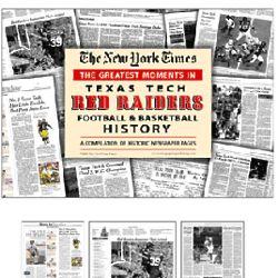 Greatest Moments of Texas Tech Raiders Football & Basketball