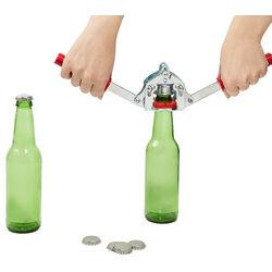 Beer Bottle Capper with Caps