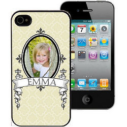 Antique Frame Personalized iPhone Case