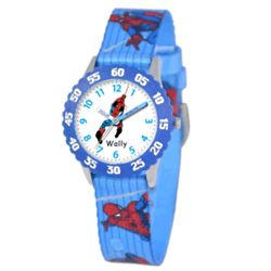 Personalized Kid's Stainless Steel Spider Man Watch