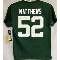 Packers Youth Matthews T-Shirt