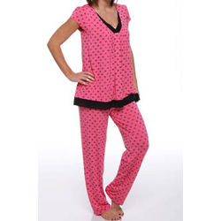 Love It Long PJ Set with Shelf Bra